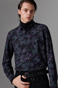 Koszula Reserved z klasycznym kołnierzykiem z długim rękawem