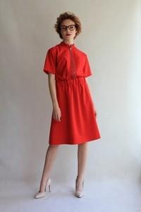 Sukienka True Color By Ann midi z tkaniny