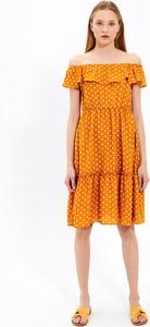 Pomarańczowa sukienka Gate