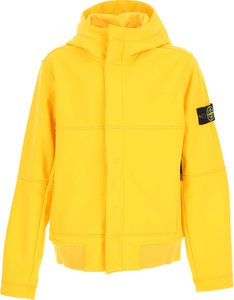 Żółta kurtka dziecięca Stone Island