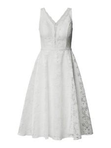Sukienka Troyden Collection na ramiączkach z dekoltem w kształcie litery v mini