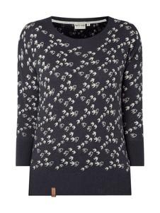 Granatowy sweter Naketano z bawełny
