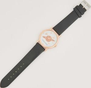 Sinsay - Zegarek z planetą - Czarny