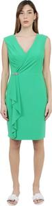 Zielona sukienka Ralph Lauren midi