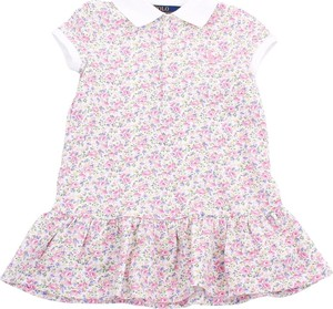 Różowa sukienka dziewczęca POLO RALPH LAUREN