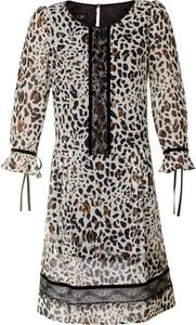 Sukienka Poza z szyfonu mini