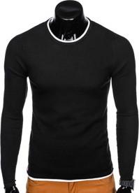 Czarny sweter Ombre Clothing z bawełny