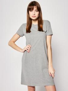 Sukienka Superdry z okrągłym dekoltem mini prosta