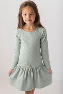 Sukienka dziewczęca Myprincess / Lily Grey z bawełny w groszki