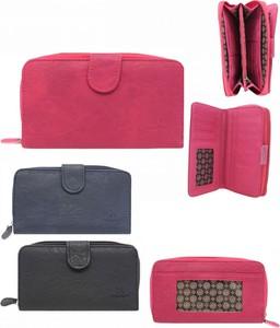 3ded9bce75726 duże portfele damskie - stylowo i modnie z Allani
