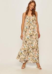 Sukienka Answear maxi prosta w stylu boho