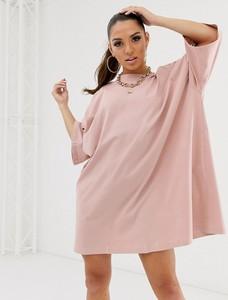 Sukienka Asos Design z długim rękawem oversize