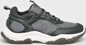 Buty sportowe S.Oliver sznurowane ze skóry