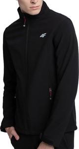 Czarna kurtka 4F z polaru krótka
