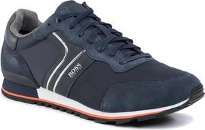 Buty sportowe Boss sznurowane