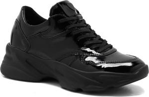 Czarne buty sportowe CheBello sznurowane air max 270