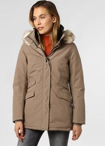 Brązowa kurtka Wellensteyn w stylu casual krótka