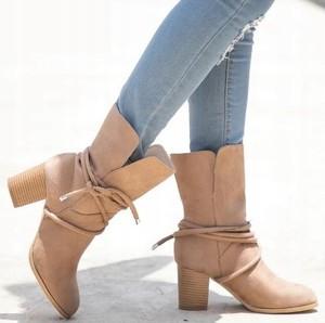 1c58044fd4426 buty botki jesienne. - stylowo i modnie z Allani