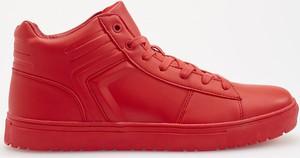 Reserved - Sneakersy za kostkę - Czerwony