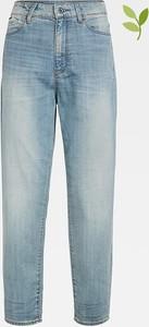 Niebieskie jeansy G-star z bawełny