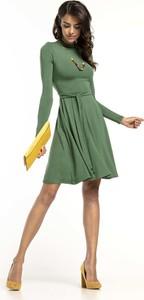 Sukienka Tessita mini z długim rękawem z golfem