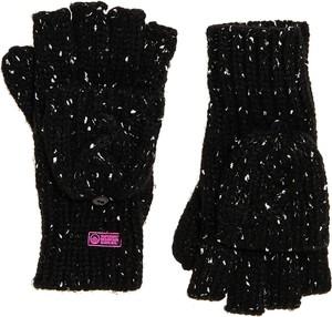 Czarne rękawiczki Superdry