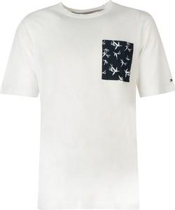 T-shirt Tommy Hilfiger z nadrukiem z bawełny