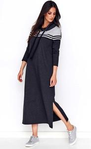 Sukienka Makadamia prosta z bawełny