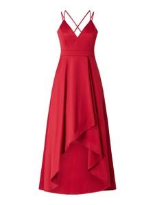 Czerwona sukienka Jake*s Cocktail z dekoltem w kształcie litery v