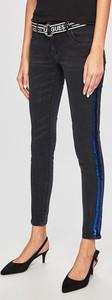 Granatowe jeansy Guess Jeans w stylu casual z bawełny