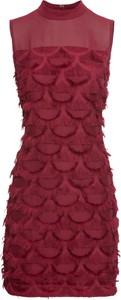Czerwona sukienka bonprix BODYFLIRT boutique bez rękawów
