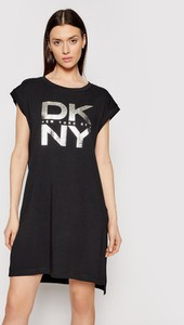 Czarna sukienka DKNY mini