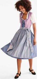 2226554569 sukienka satynowa z koronką - stylowo i modnie z Allani