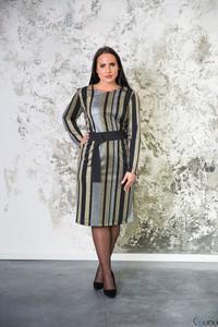 Sukienka tono.sklep.pl z długim rękawem w stylu casual midi