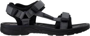 Czarne buty letnie męskie Martes w stylu casual