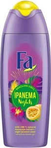 FA_Brazilian Vibes Ipanema Nights Shower Gel żel pod prysznic Maracuja Night Jasmine Scent 400ml