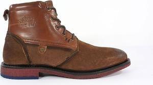 Brązowe buty zimowe S.Oliver w stylu casual