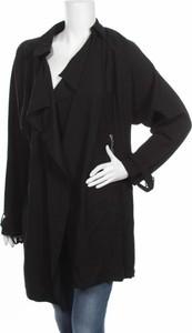Czarna kurtka New Look długa w stylu casual
