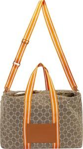 Brązowa torba podróżna Codello ze skóry