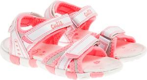 Buty dziecięce letnie Cool Club dla dziewczynek z jeansu