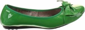 Zielone baleriny Si w stylu casual