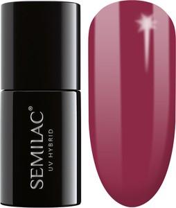 Semilac, lakier hybrydowy 068 delicate red