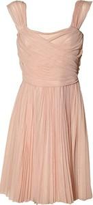 Różowa sukienka Pinko mini