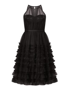 Czarna sukienka V.m. bez rękawów mini