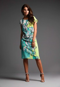 Sukienka Risca z tkaniny