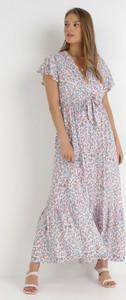 Sukienka born2be trapezowa w stylu casual maxi