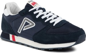 Pepe Jeans Sneakersy Klein Archive PMS30592 Granatowy