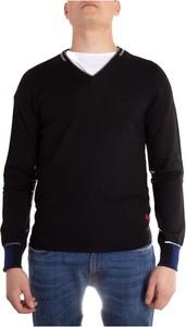 Czarny sweter Peuterey z wełny