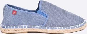 Błękitne buty letnie męskie Big Star
