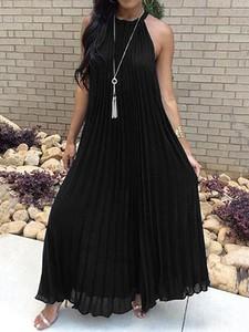Sukienka Kendallme bez rękawów maxi z dekoltem w kształcie litery v